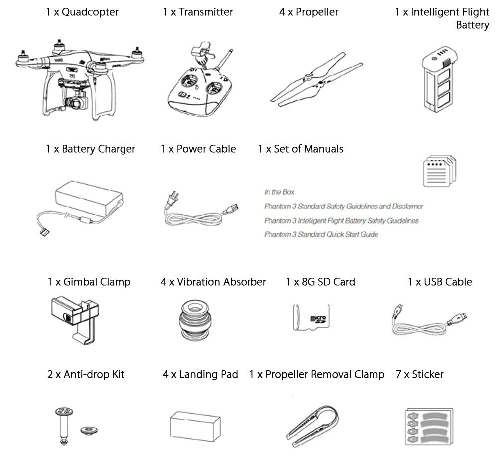2 Dji Phantom Wiring Diagram Pdf Schematic Diagrams 3 Standard Parts Manual Newmotorku Co Drone