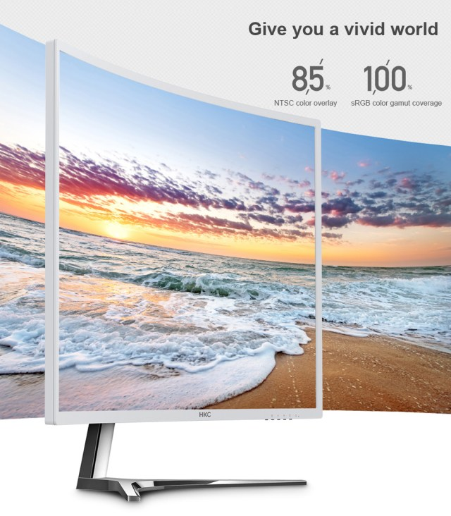 HKC C7000 27 inch 1800R Curved Screen Display Computer Monitor