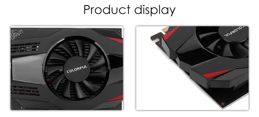 Colorful NVIDIA GeForce GT 1030 2G GDDR5 1227MHz 14nm 64bit Video Graphics Card