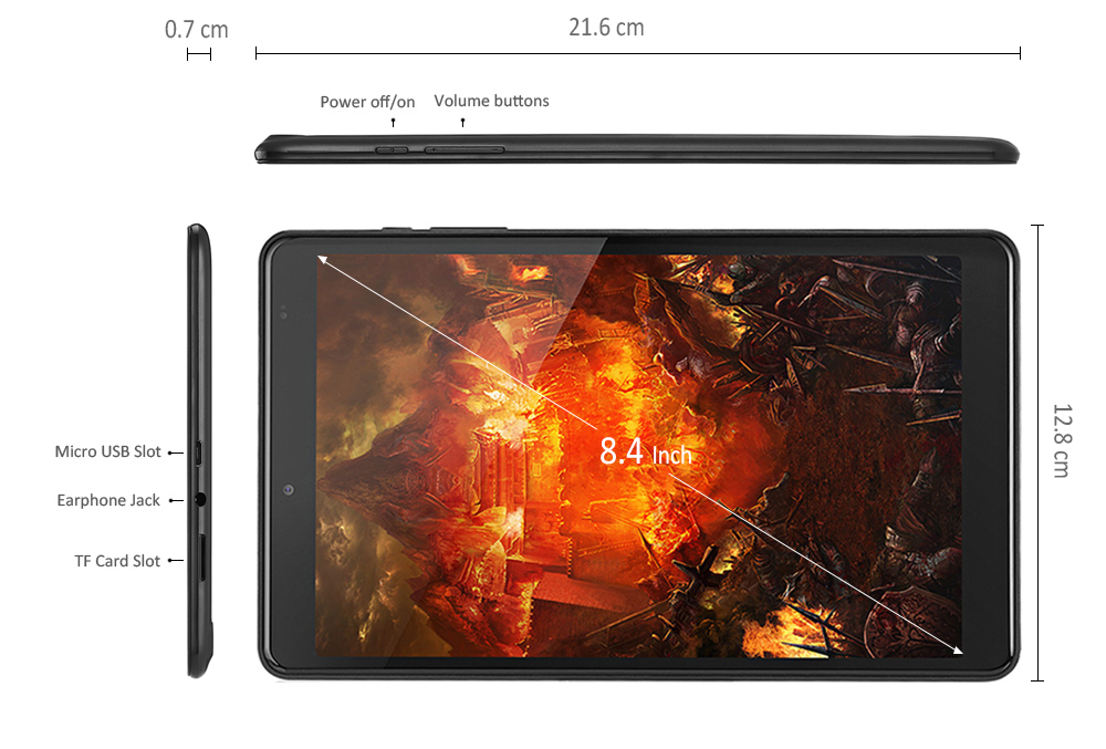 Gearbest Chuwi Hi9 Tablet PC