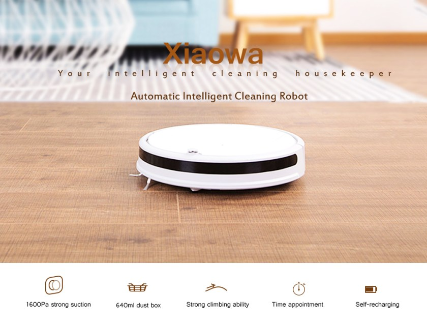 Xiaowa Robotic Vacuum Cleaner Automatic Intelligent Cleaning Robot