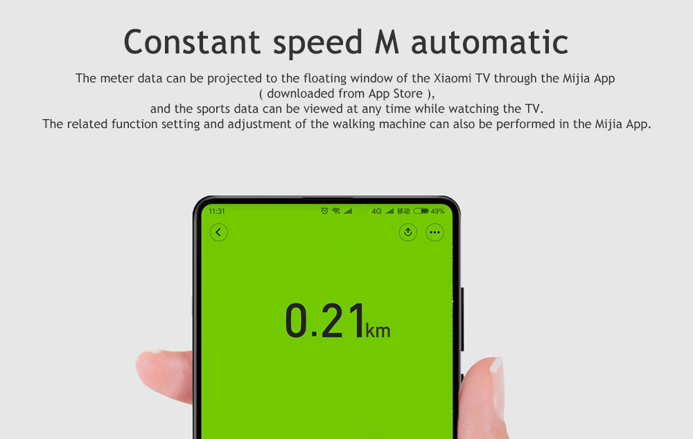 Grab The Xiaomi A1 Foldable Walking Mijia WalkingPad (Gym Indoor Fitness Equipment) For Just 9.99(Coupon)