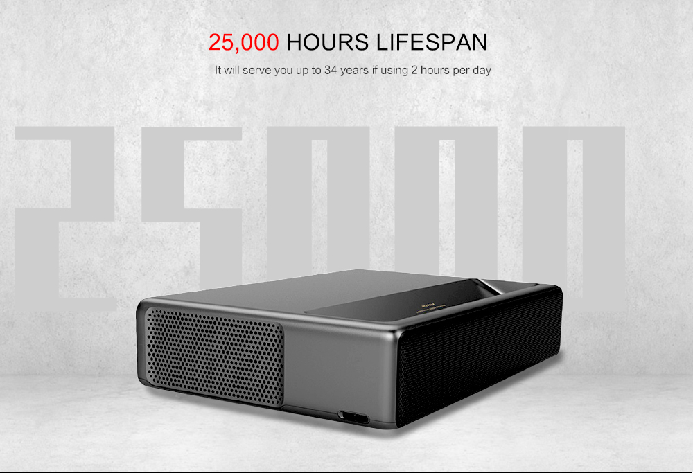 Xiaomi WEMAX One Pro Ultra Short Throw 7000 ANSI Lumens Laser Projector Offered For 41.99