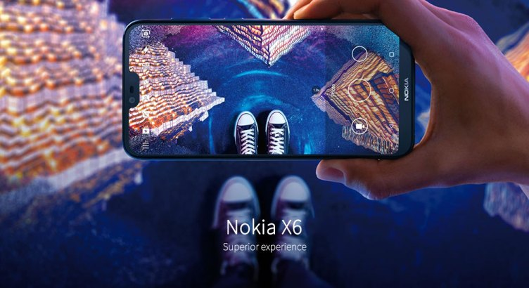 Nokia X6 4G Phablet 5.8 inch Android 8.1 Qualcomm Snapdragon 636 Octa Core 4GB RAM 64GB ROM 16.0MP + 5.0MP Dual Rear Cameras Fingerprint Sensor Face ID 3060mAh Built-in- Black