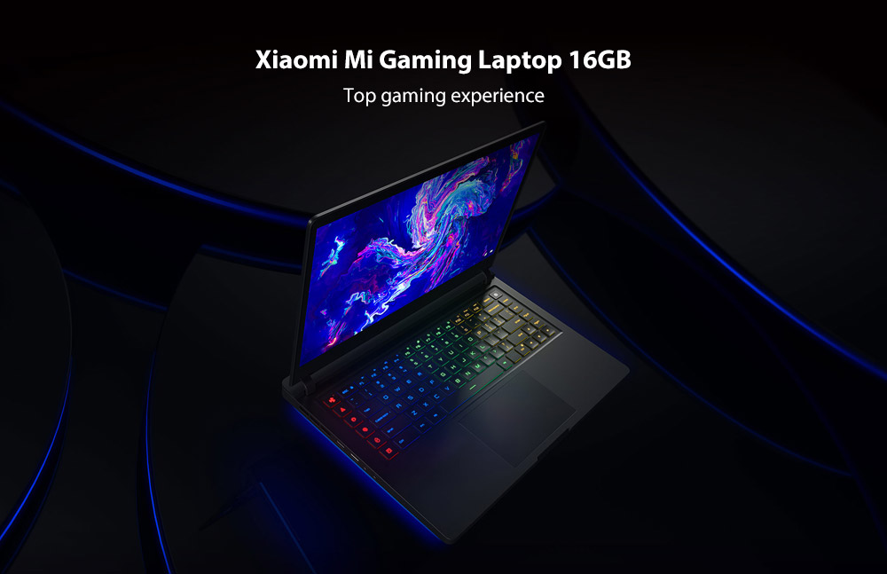 Xiaomi Mi Gaming Laptop 15.6 inch Windows 10 Home Chinese Version Intel Core i7-8750H Hexa Core 2.2GHz 16GB RAM 256GB SSD + 1TB HDD Dual WiFi Bluetooth 4.1 HDMI Type-C Camera- Dark Gray Intel Core i7-8750H Hexa Core 16GB RAM
