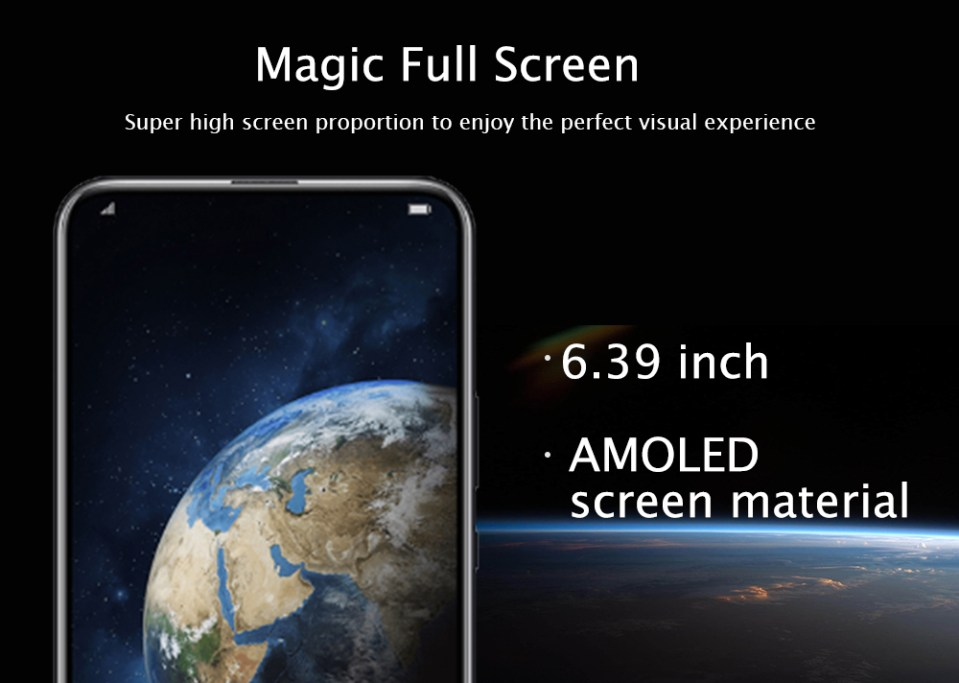 HUAWEI Honor Magic 2 4G Phablet 6.39 inch Android 9.0 HUAWEI Kirin 980 Octa Core 2.6GHz 16.0MP + 24.0MP Rear Cameras 16.0MP + 2.0MP Front Cameras 8GB RAM 128GB ROM 3500mAh Built-in- Blue
