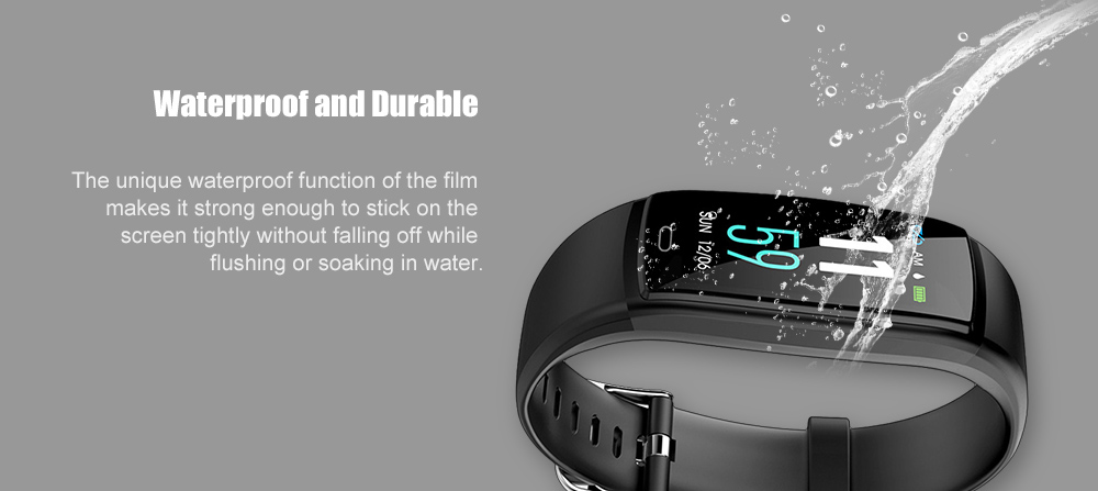 10 X For Huawei Honor 4 Smart Watch Soft Tempered Clear Protective Film