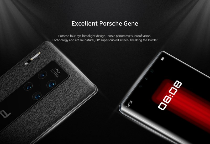 HUAWEI Mate 30 RS Porsche Design 5G Phablet 12GB RAM 512GB ROM - Red