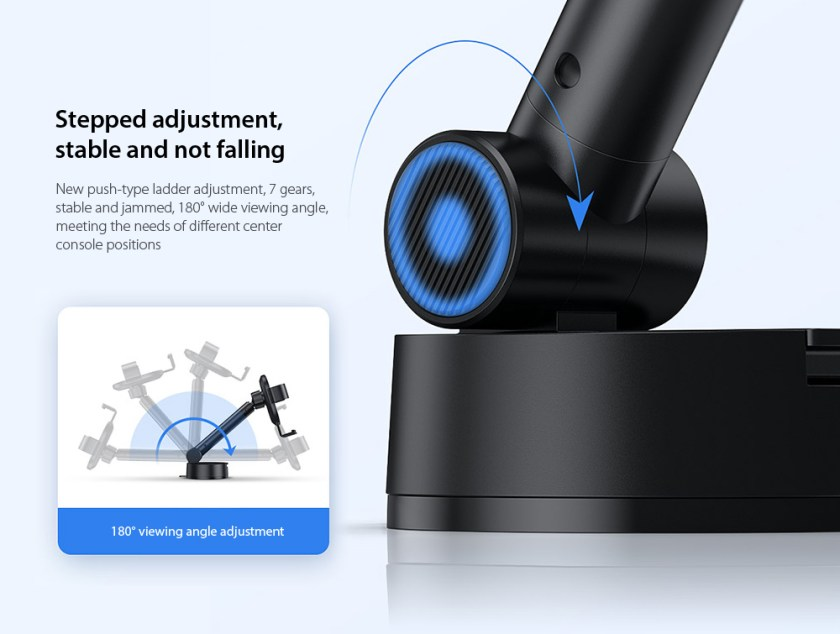 Baseus SUYL-JY01 Simplism Gravity Car Mount Holder Stepped adjustment, stable and not falling