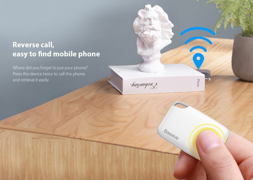 Baseus Wireless Smart Tracker Reverse call, easy to find mobile phone
