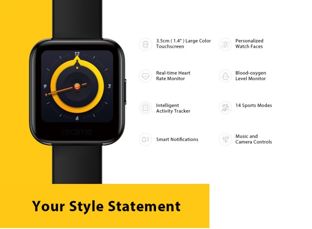 OPPO Realme Watches Smart Watch features
