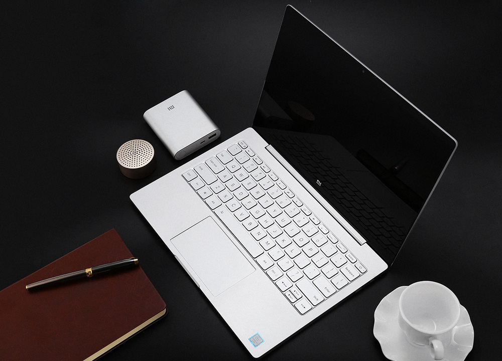 Xiaomi Air 12 Notebook Windows 10 Intel Core m3-6Y30 Dual Core 12.5 inch IPS Screen 4GB RAM 128GB SSD AKG Spearker Front Camera Bluetooth 4.1 Type-C
