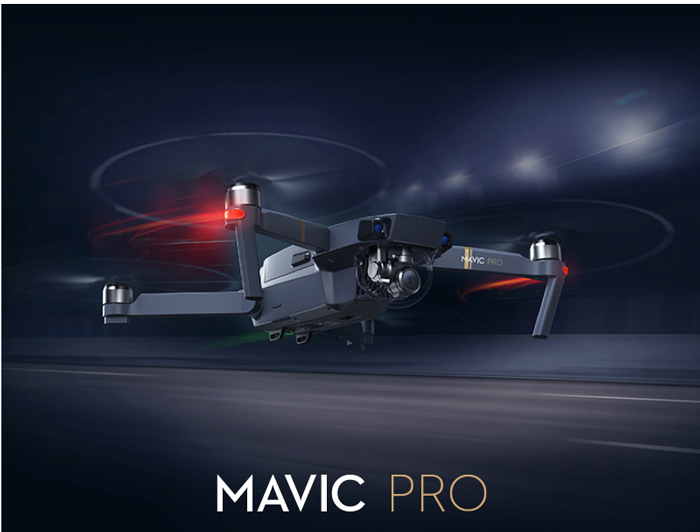 DJI Mavic Pro Mini RC Drone with 7km Ocusync Transmission / 4K UHD Camera / 3-axis Brushless Gimbal
