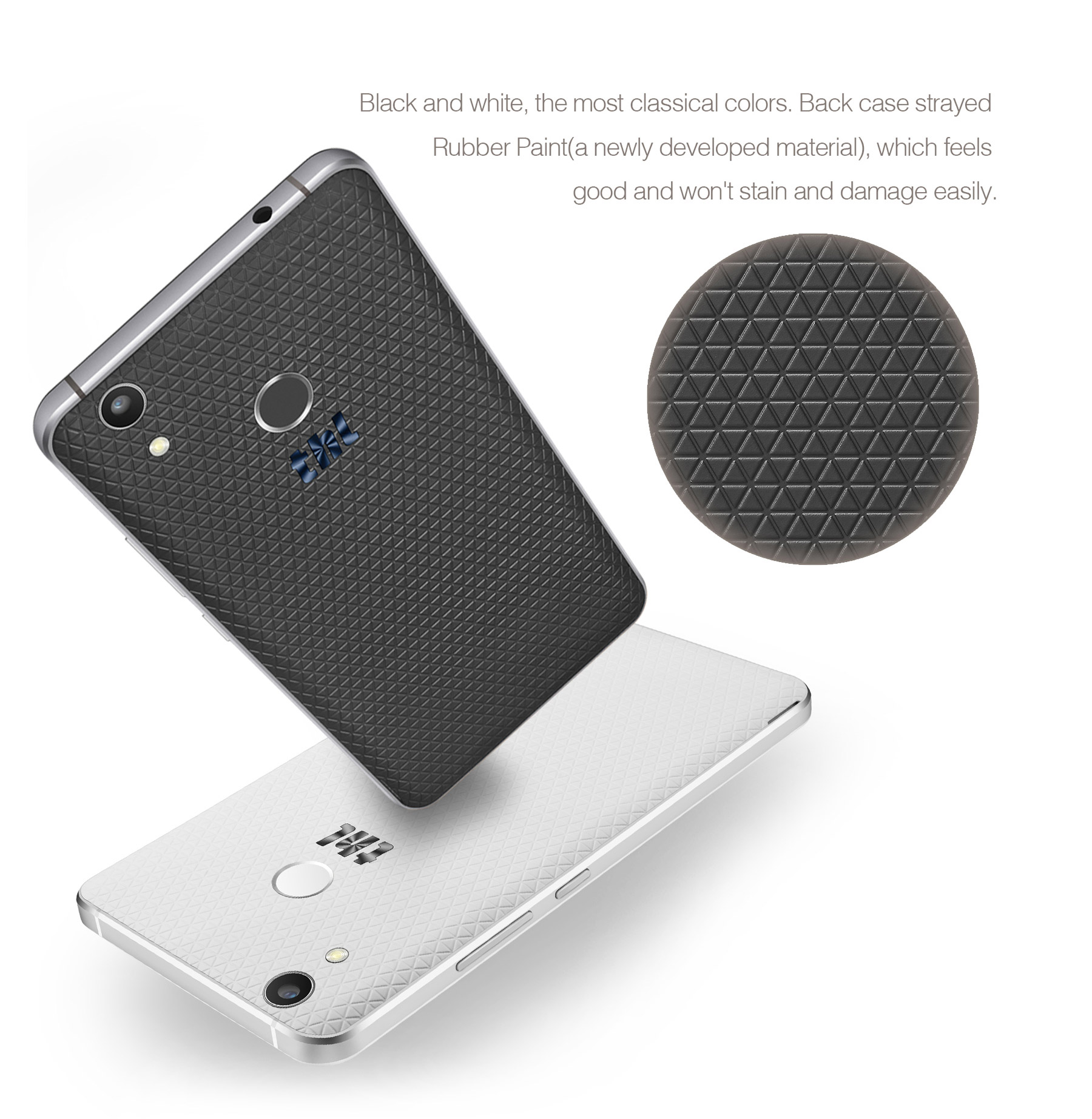 THL T9 plus Android 6.0 5.5 pouces Cameras 4G phablet MTK6737 Quad Core 1.3GHz 2 Go de RAM 16 Go ROM double Fingerprint Scanner
