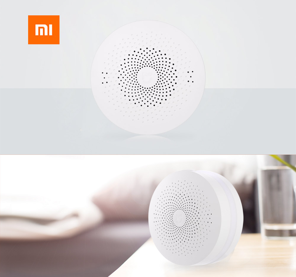Original Xiaomi Mi intelligent multifonctions passerelle WiFi à distance Control Center 16 millions RGB Lights - Version mise à jour