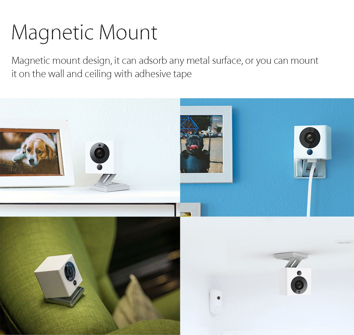 Original Xiaomi 1080P Smart WiFi IP Camera Night Vision IR-cut