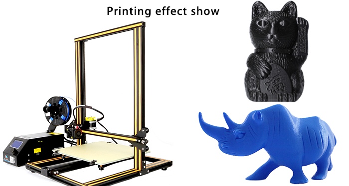 Creality3D CR - 10 3D Large Size Desktop DIY Printer LCD Screen Display with SD Card Off-line Printing Function