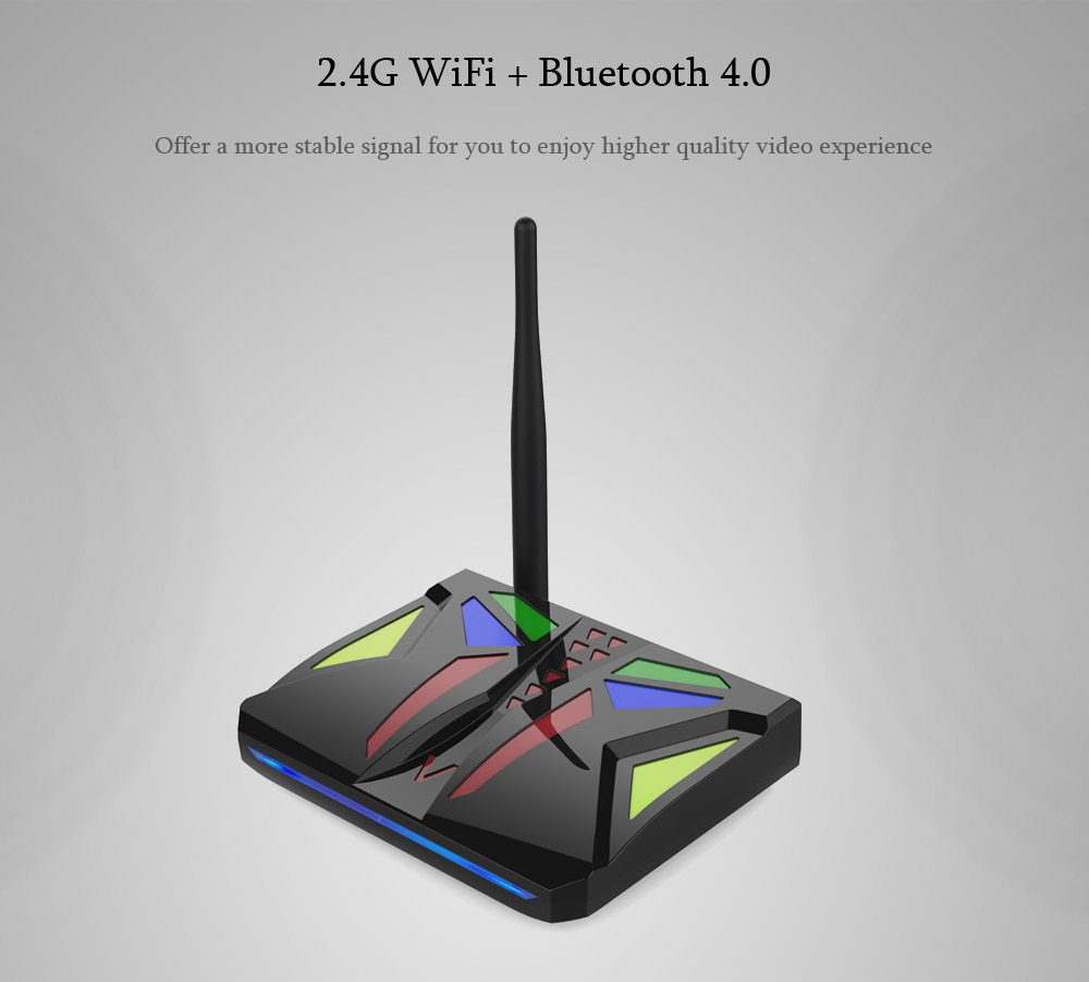 M96X VBOX Amlogic S905X TV Box with Android 7.1 Bluetooth 4.0