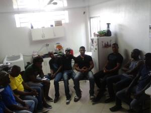 Haitianos em Chapecó/SC