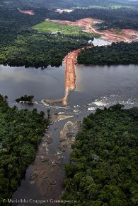 Belo Monte Dam Construction Site