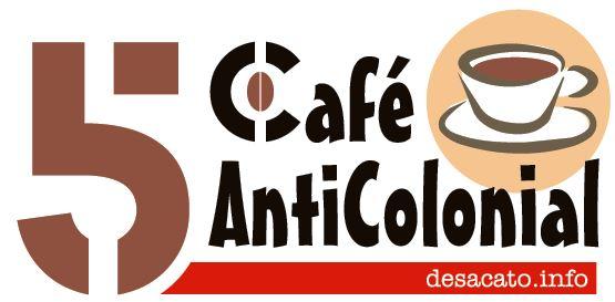 LOGOMARCA sobre fundo Branco Café Anticolonial