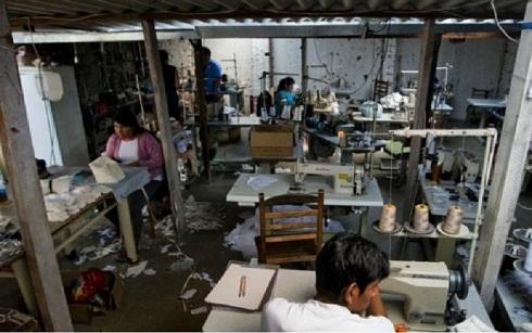 Trabalho escravo em oficinas de costura