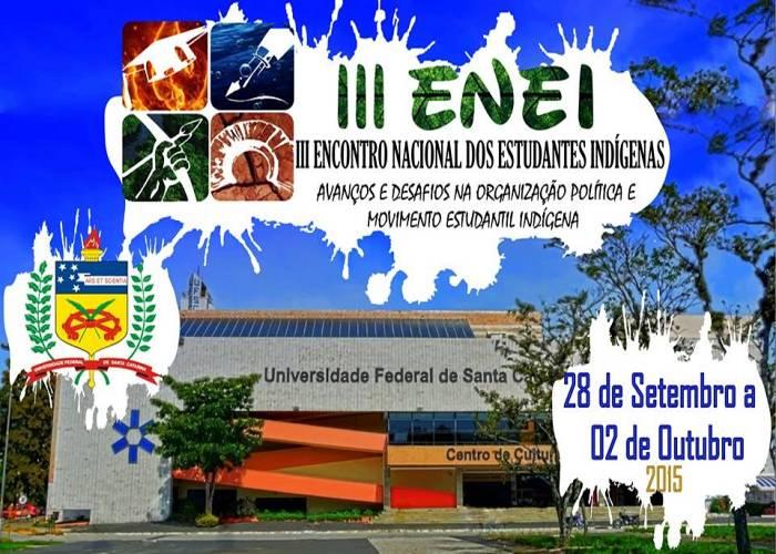 III Encontro Nacional de Estudantes Indígenas