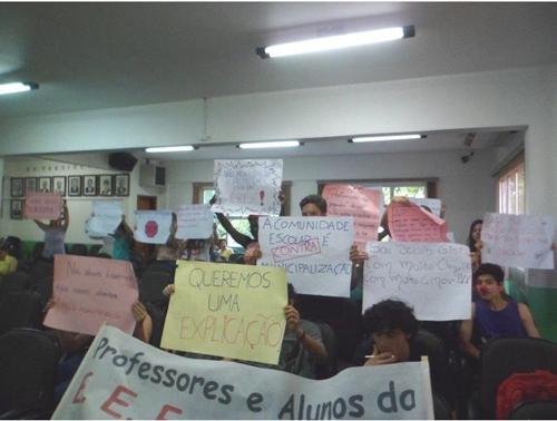 Chapecó: Comunidade escolar retorna à Câmara de Vereadores