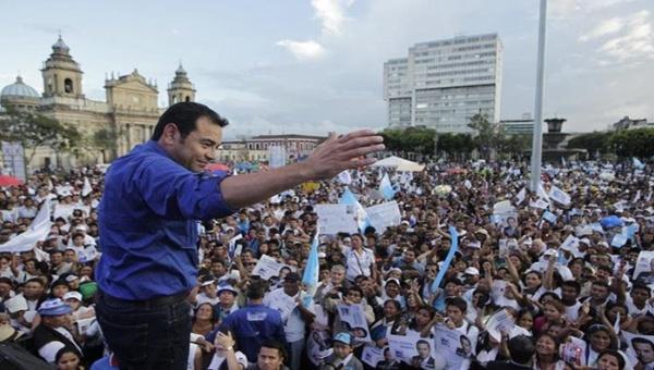 Guatemala: Nexos do comediante e futuro presidente que não são para rir