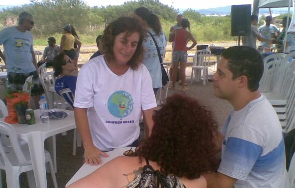 Aparecida Ferreira Conselheira APA Baleia Franca