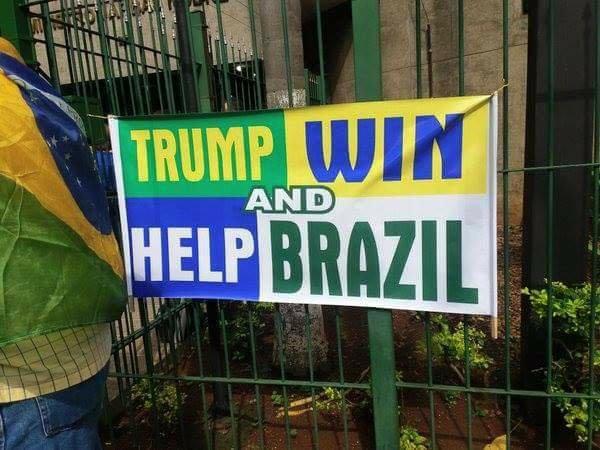 As manifestações e o Brasil