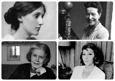 Virgínia Woolf, Simone De Beauvoir, Lygia Fagundes Telles e Clarice Lispector estão entre as escritoras indicadas na lista
