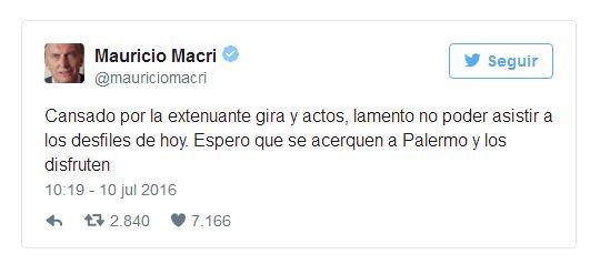 Twitter Macri