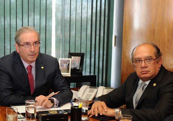 Com renúncia, ações contra Cunha no STF passam para colegiado presidido por Gilmar