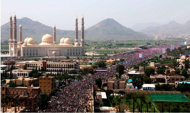 Iêmen: 900 mil pessoas protestam contra bombardeios liderados pela Arábia Saudita