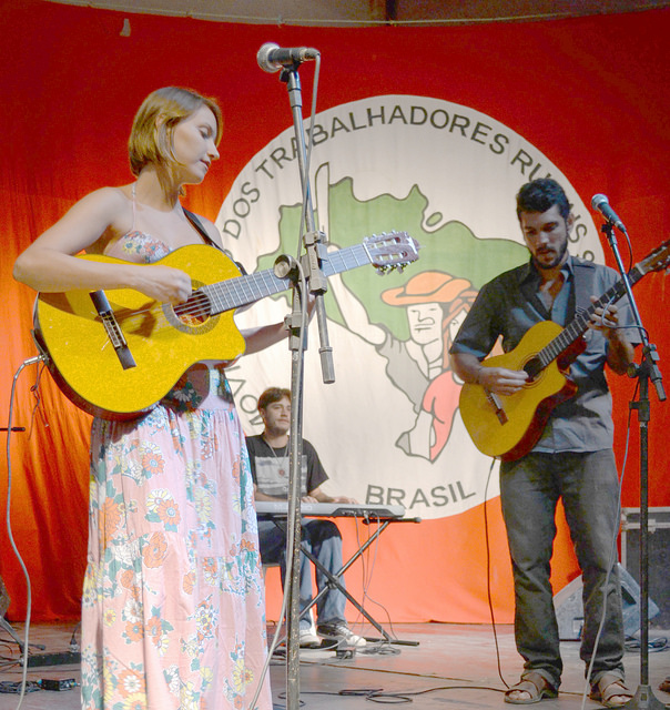 Festival de cultura, em Campo do Meio, pretende valorizar os artistas locais e fazer frente aos últimos acontecimentos na Usina Ariadnópolis. Foto: Gustavo Marinho.