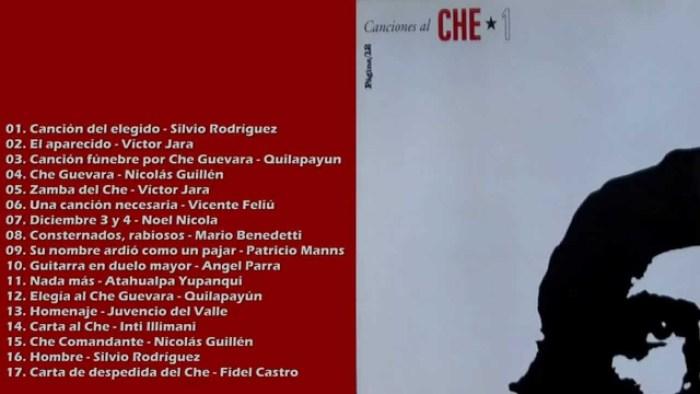 Canções em homenagem ao Che Guevara