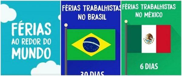 Ministério do Trabalho divulga vídeo com informações falsas sobre férias no Brasil e no mundo.