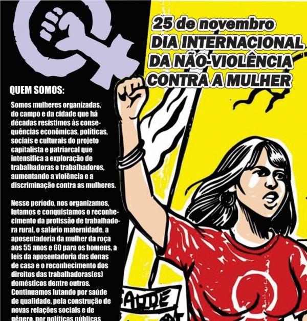 Coletivos e movimentos sociais participam de ato regional em Palmeira das Missões/RS, nessa sexta-feira, 25