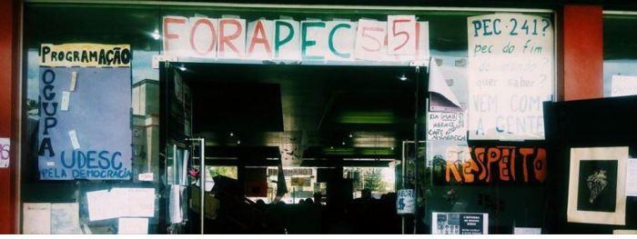 Reitoria da UDESC ignora acordo entre ocupantes e servidores