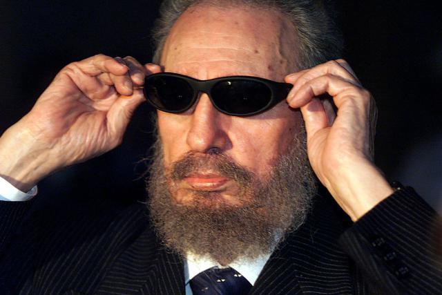 Fidel castro em 1999. Foto: AFP