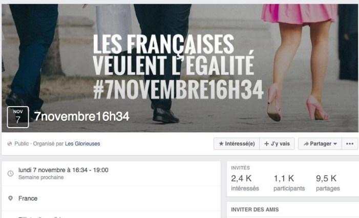 Trabalhadoras francesas param contra a discriminação salarial