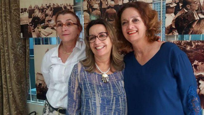 Lígia Giovanella, Marize Lippel e Rosângela de Souza