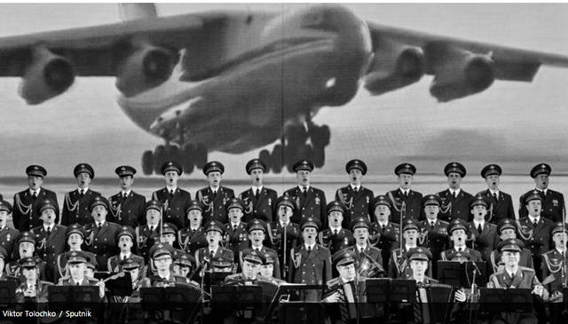Avião cai no Mar Negro e mata integrantes do Coral do Exército Vermelho