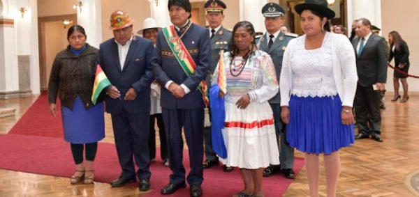 22 janeiro 2017, La Paz.- O presidente Evo Morales no Dia do Estado Plurinacional da Bolívia. Fotos: Freddy Zarco