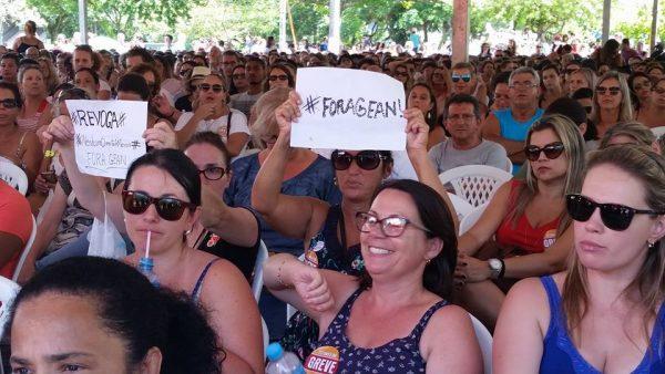 MST manifesta apoio e solidariedade ao Sintrasem em Florianópolis
