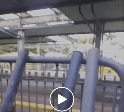 Terminal Florianópolis caindo aos pedaços