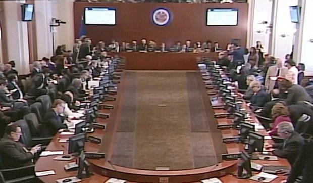 A OEA e uma sessão ilegítima: Nomes dos países ao serviço dos EUA