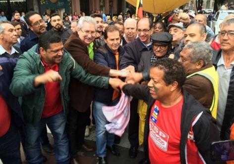 O Brasil apoiou a greve geral dos/as trabalhadores/as
