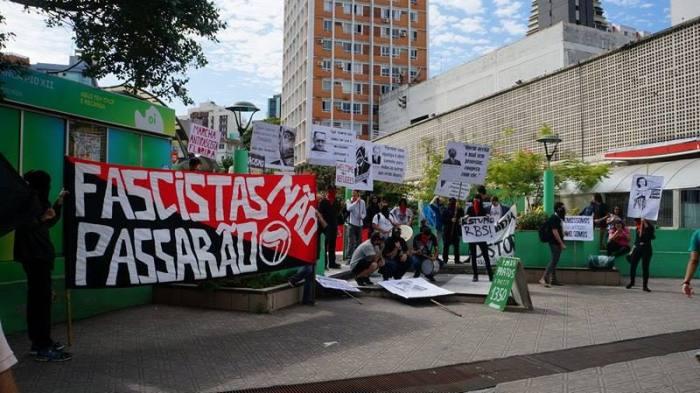 Marcha denuncia que fascismo permanece na sociedade atual